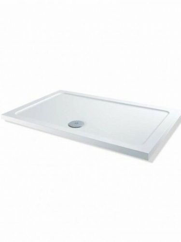 MX DUCASTONE LOW PROFILE 1000X760 SHOWER TRAY INCLUDING WASTE